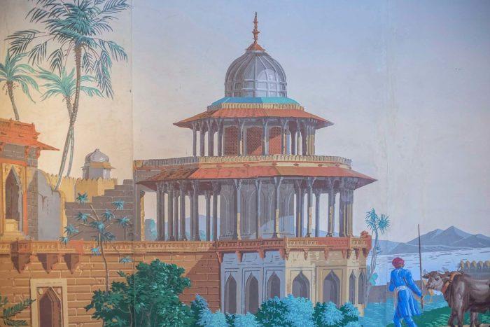papier peint zuber hindoustan chhatri
