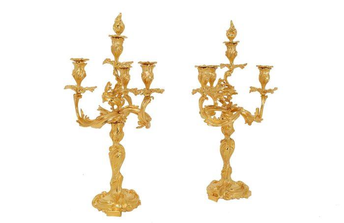 candelabres-bronze-doré-style-louis-xv