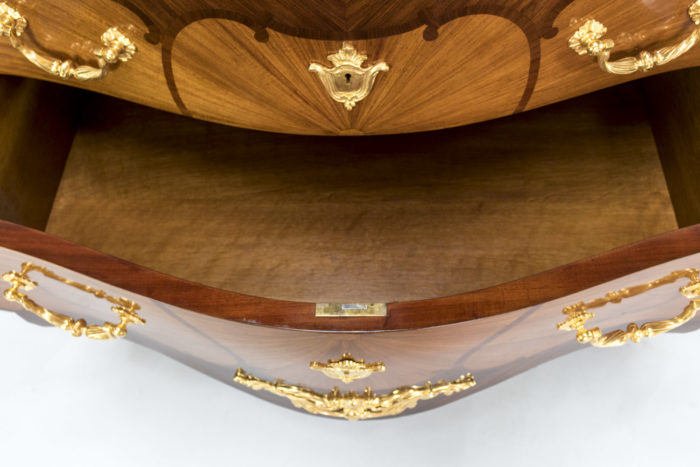 commode louis xv henry dasson tiroir
