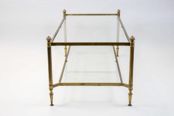 maison jansen table basse laiton doré maison jansen profile