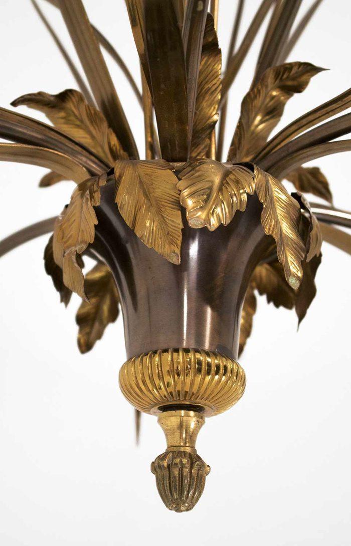 lustre-maison-charles-bronze-doré-coupelle