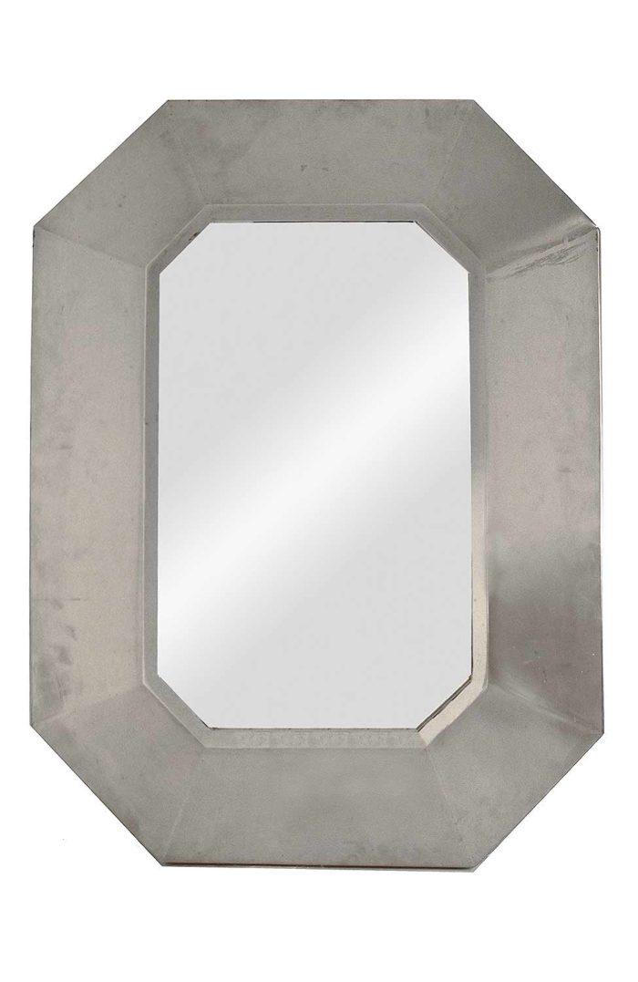 miroir maison jansen inox