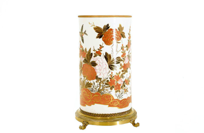 porte-parapluie-porcelaine-orange