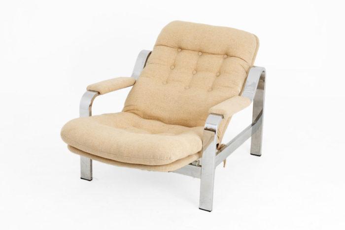 fauteuil modulable acier