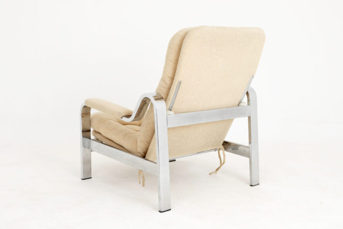 fauteuil modulable chromé dos