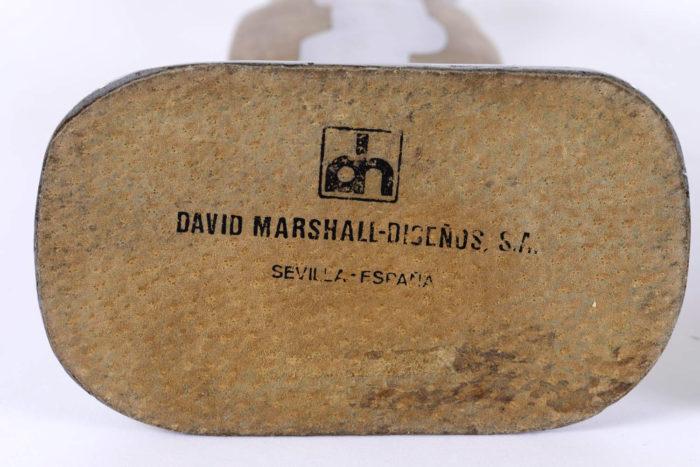 bougeoirs david marshall signature base dessous