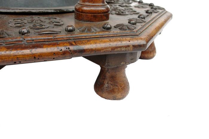 brasero XVII detail pied