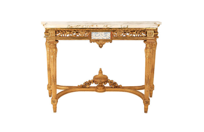 console louis xvi giltwood