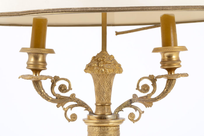 lampe bouillotte restauration bras