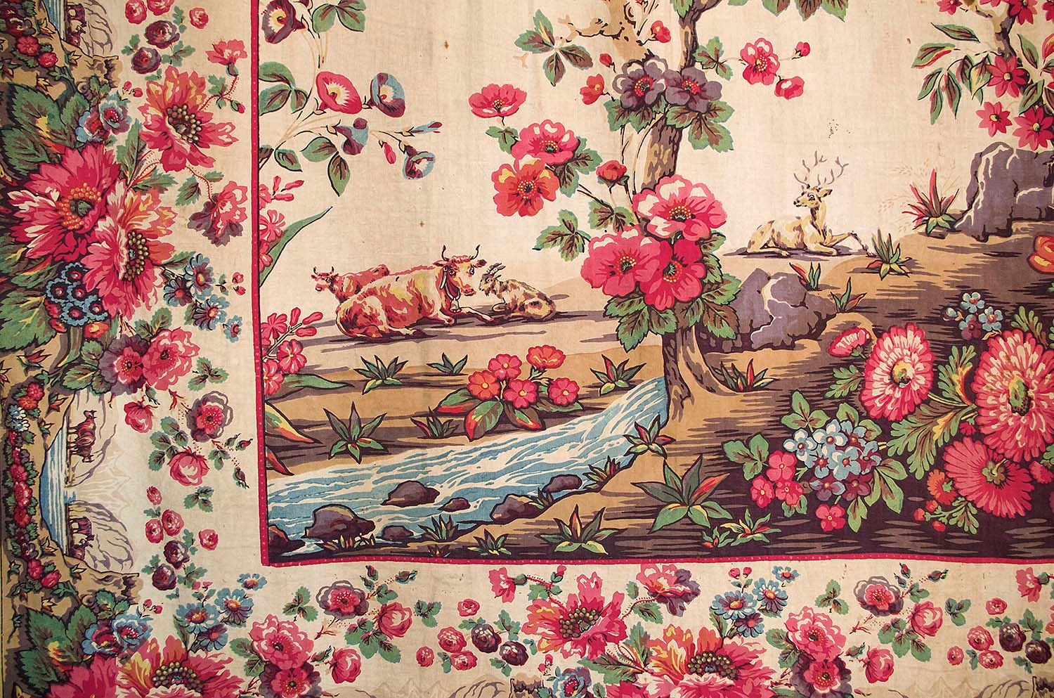 Chintzes Italians Mezzari And French Jouy Canvas