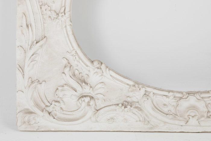 panneau stuc louis XV detail gauche