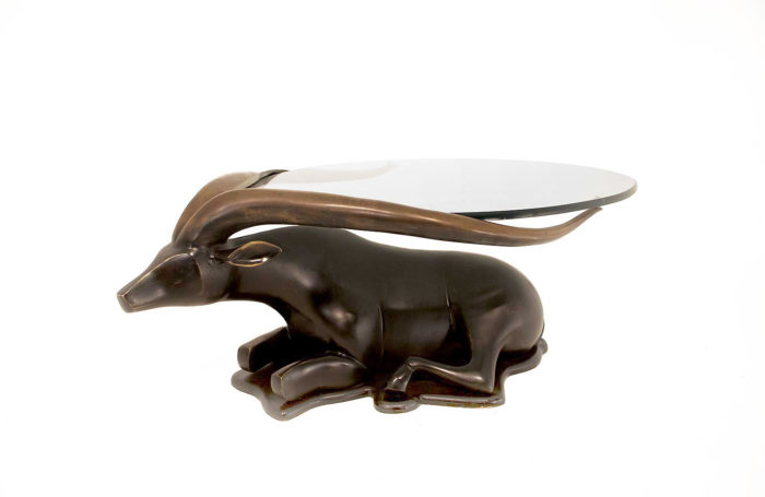 table-basse-bronze-antilope-trois-quart