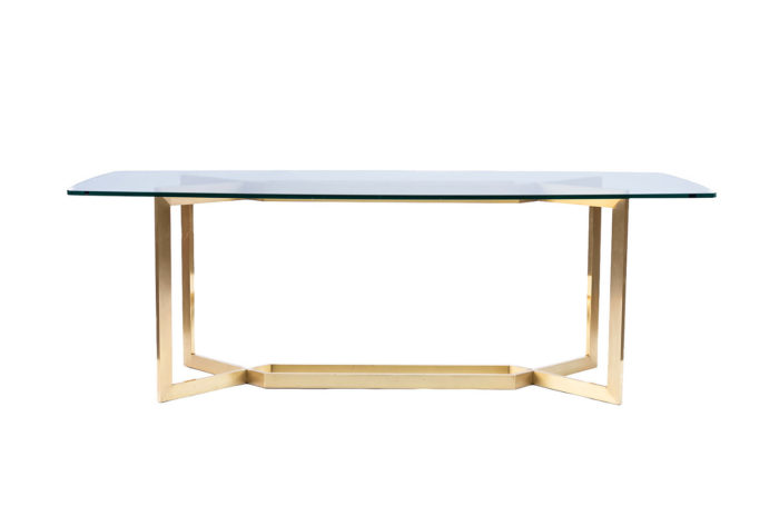 table paul legeard dialogue acier doré face pcple