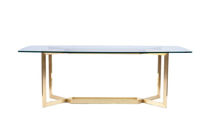 table paul legeard dialogue gold varnish steel