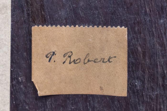 etiquette dos p. robert