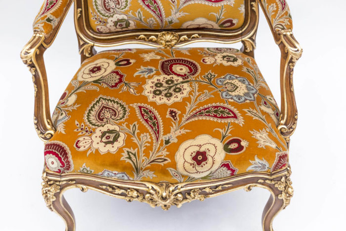 fauteuil louis xv garniture lelièvre ali baba