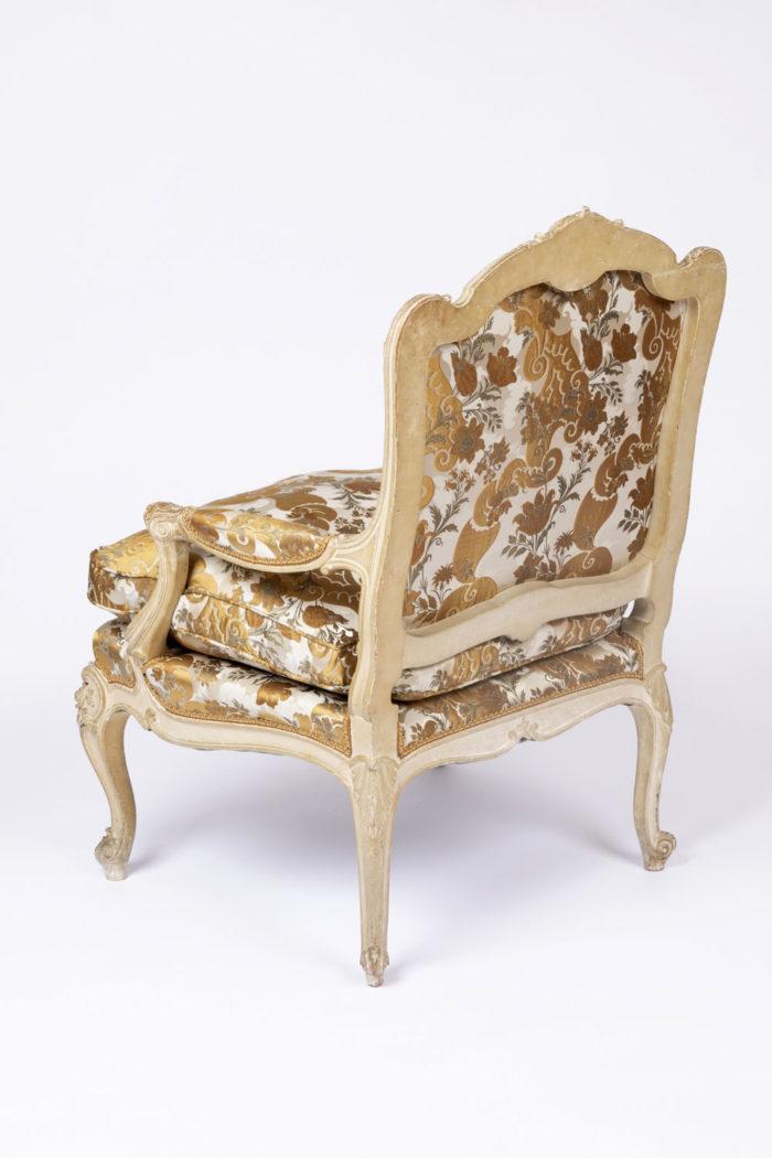 fauteuil tilliard louis xv dos