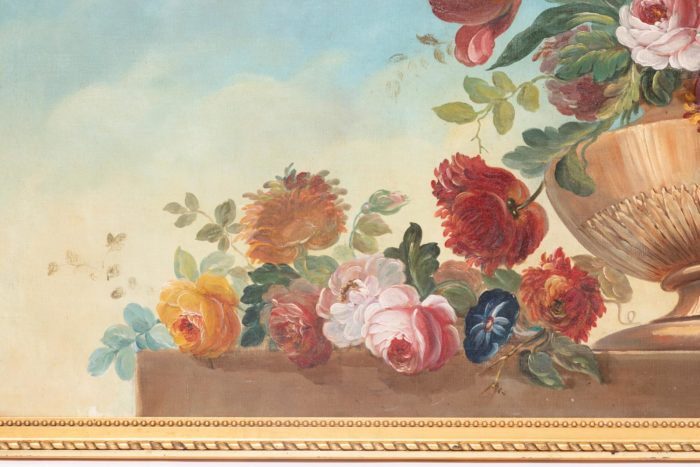 fleurs gauche vase laurier