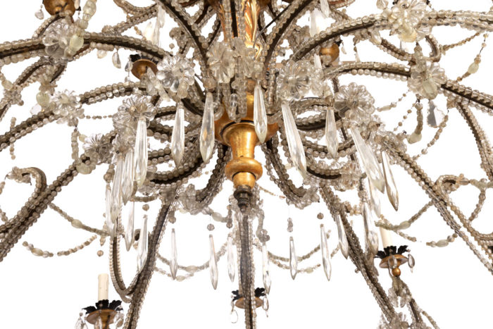genoese chandelier below