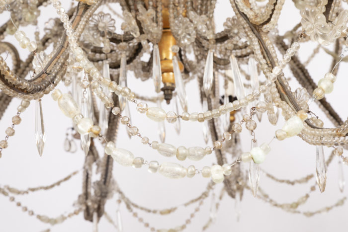 genoese chandelier below spinning top bottom