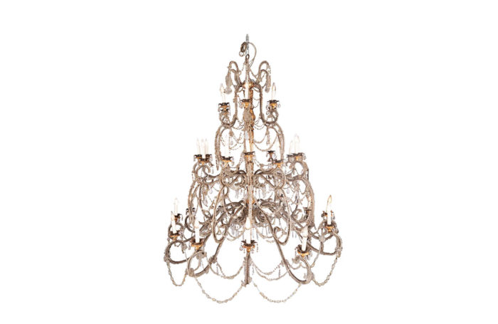 genoese chandelier murano glass