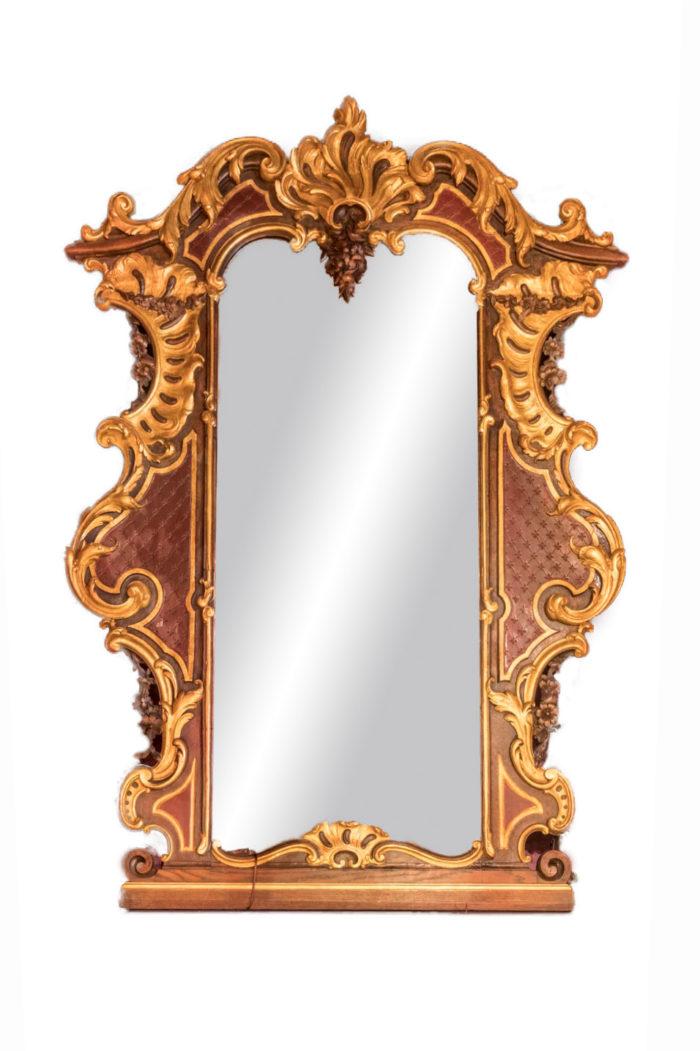 miroir-rococo-louis-xv-bois-doré-face