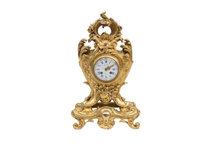 pendule horloge garniture de cheminée louis xv
