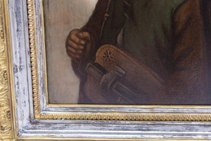 portrait panneau p.robert detail instrument 1
