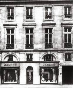 siege jansen rue royale