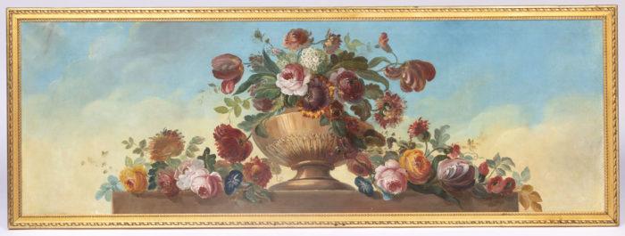 tableau vase laurier