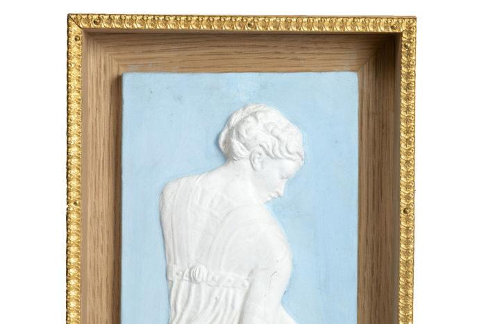 terracotta vestal wedgwood style portrait