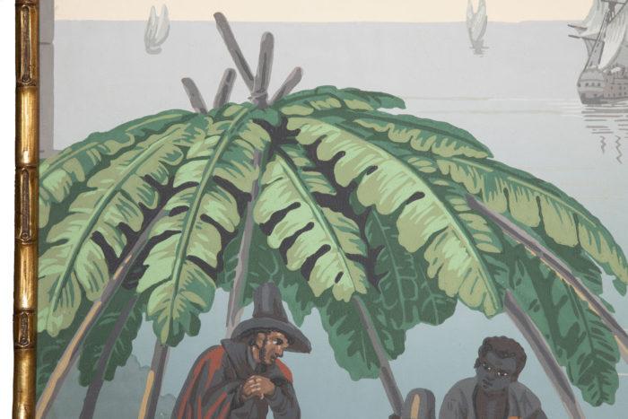 zuber deltil vues du brésil abri palmes