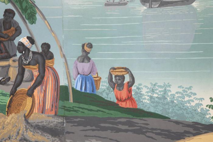zuber deltil vues du brésil femmes noires détail