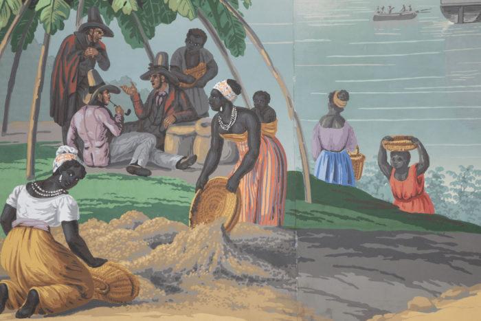 zuber deltil vues du brésil femmes noires et contremaitres