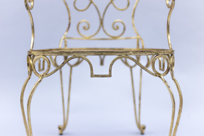 6 gilt chairs chair apron