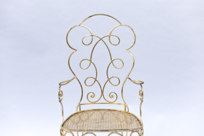 6 gilt chairs chair back