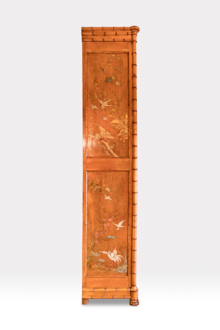 armoire bambou japon côté