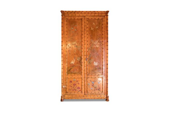 armoire bambou laque photo pcple
