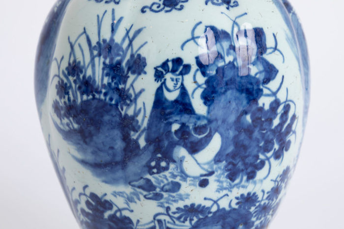 faience delft personnage chinois