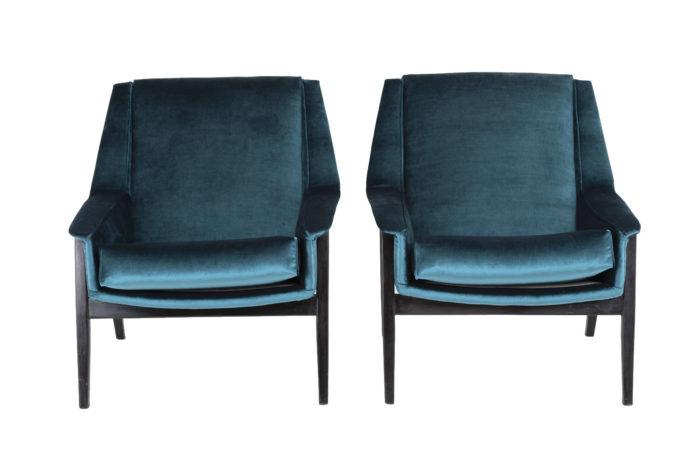 fauteuils bleus carlo di carli face