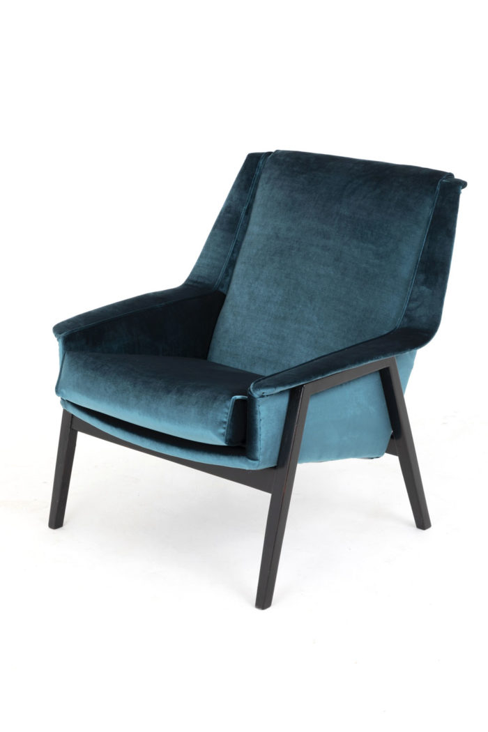 fauteuils bleus carlo di carli solo 1