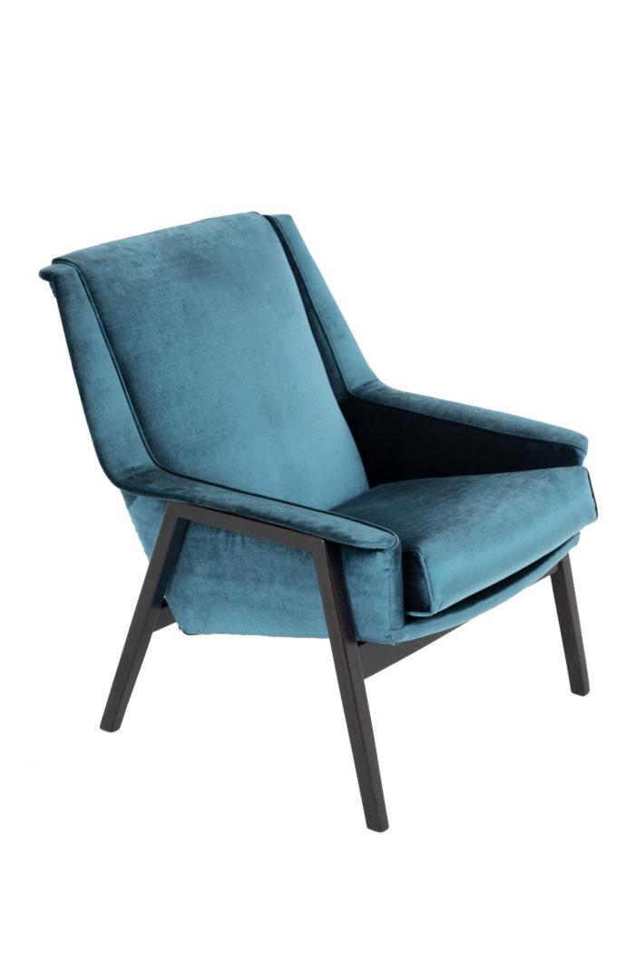 fauteuils bleus carlo di carli solo 2