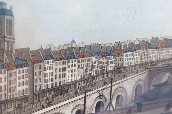 gravure paris coqueret paris rues