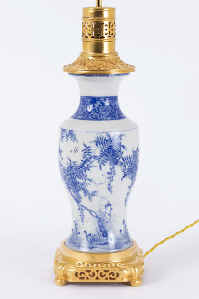 lampe porcelaine japon