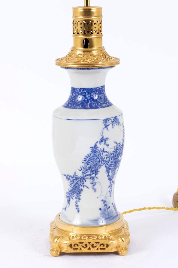 lampe porcelaine japon côté