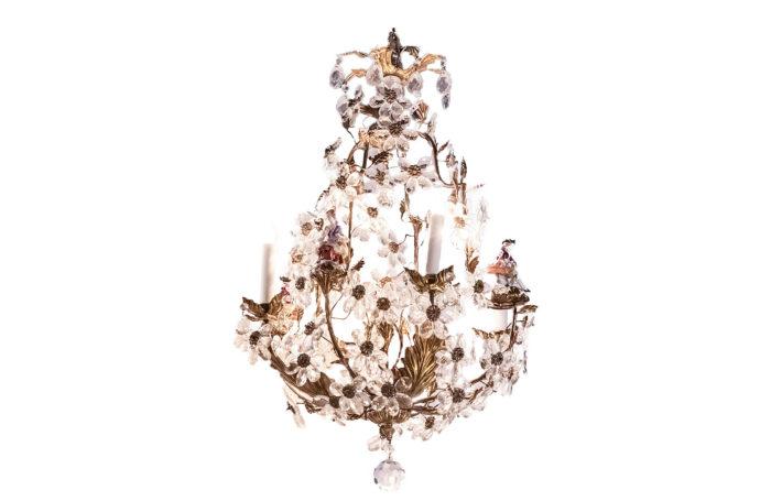 capodimonte porcelain chandelier main