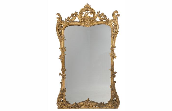 miroir doré louis xv prcpl