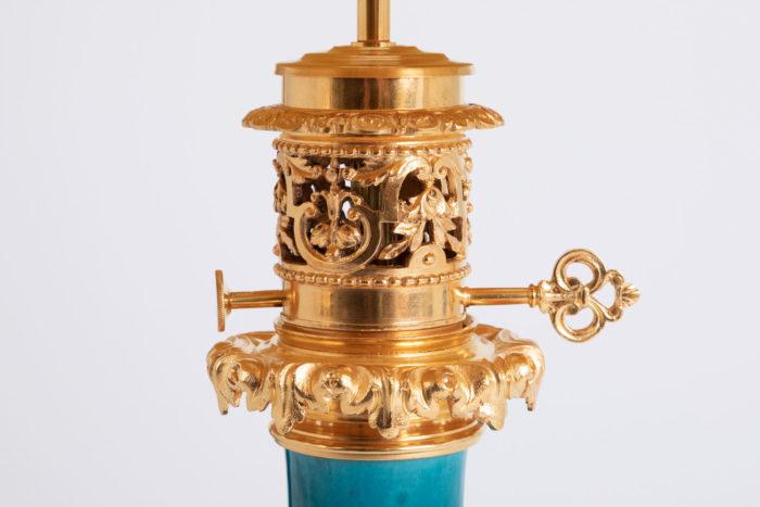 monture bronze doré partie haut trefle