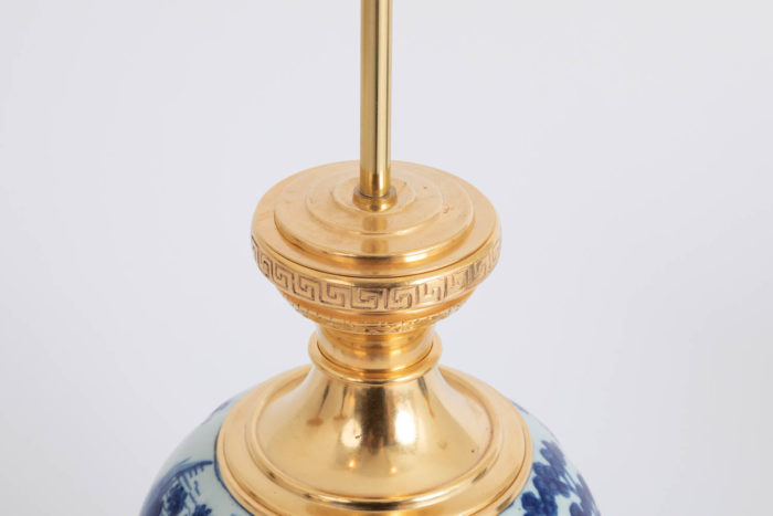 monture brozne doré laurier fise grecques