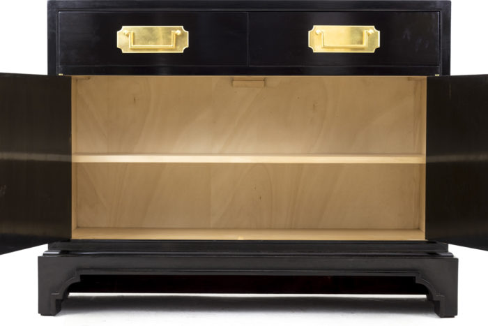 black lacquered buffets interior